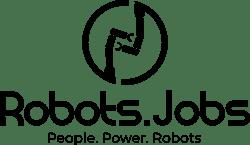 Robots.Jobs Logo Black